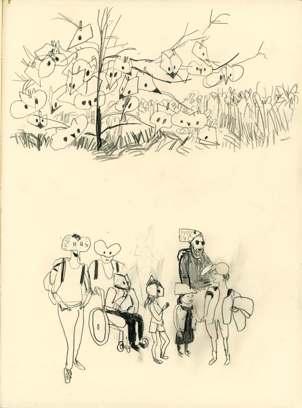 Les hommes buissons