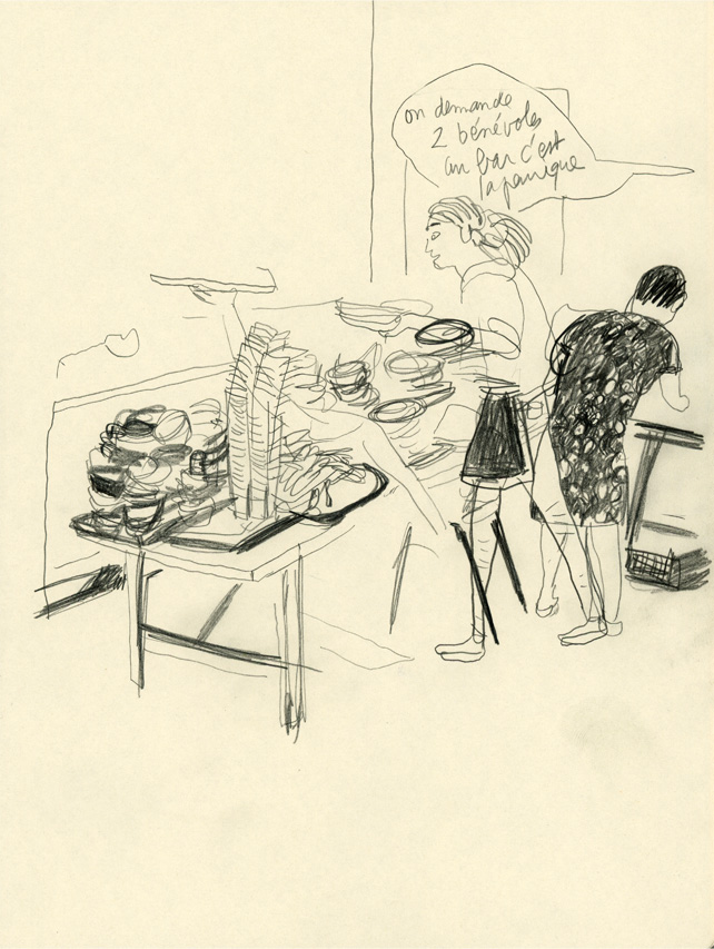 Maïsam - bénévole en cuisine